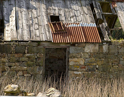 Photograph - Rural Decay by Liz  Alderdice