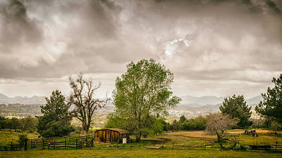 Rural East County Art Print by Joseph Smith