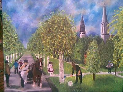 Painting - Rural Idyll by Lazar Caran