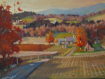 Painting - Rural New York by Len Stomski