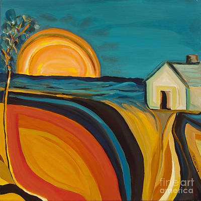 Painting - Rural Oasis  by Ida Mitchell