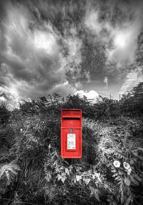 Mail Box Photograph - Rural Post Box by Mal Bray
