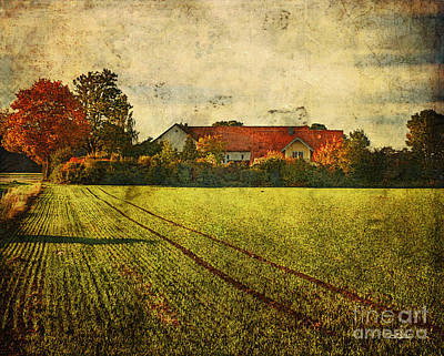 Photograph - Rural Residence by Jutta Maria Pusl