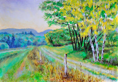 Painting - Rural Road by Martin Capek