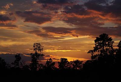 Photograph - Rural Sunset by Billy  Griffis Jr