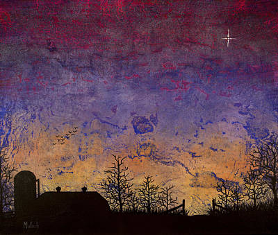 Painting - Rural Sunset by Jack Malloch