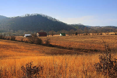Photograph - Rural Tennessee Farm by Melinda Fawver