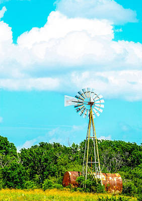 Rural Texas Art Print