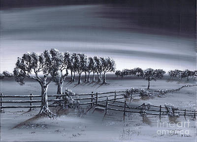 Painting - Rural Trail by Kenneth Clarke