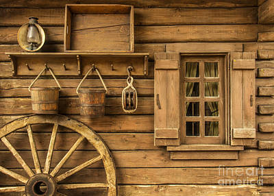 Old House Photograph - Rural Wertern by Carlos Caetano