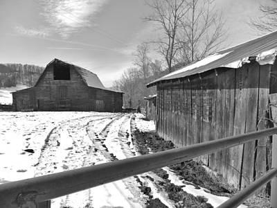Rural Winter Art Print