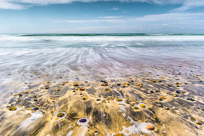 Cardiff State Beach Photograph - Rush by Alexander Kunz
