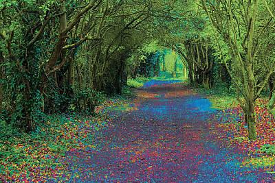 Digital Art - Rush Avenue by David Davies