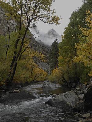 Photograph - Rush Creek Aspen Trees Aerie Crag by Don Kreuter