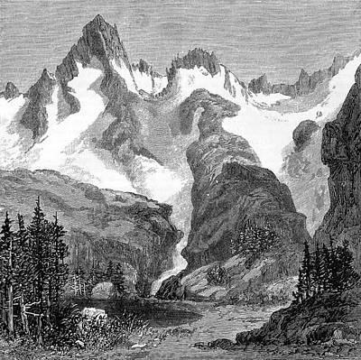Rush Creek Glacier Art Print by Universal History Archive/uig