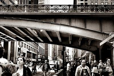 Photograph - Rush Hour - New York City Street Scene by Miriam Danar