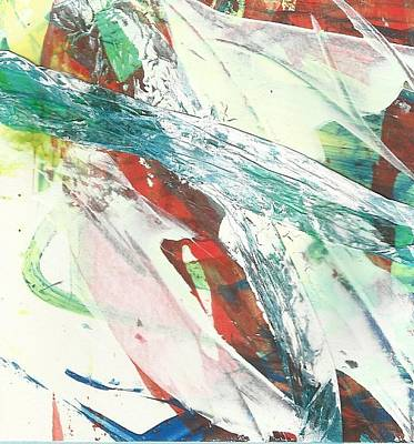 Free Style Painting - Rush by P J Lewis