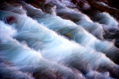 Waterscape Photograph - Rushing by Adam Romanowicz