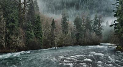 Photograph - Rushing Mckenzie River by Don Schwartz