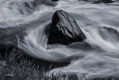 Springtime Photograph - Merced River by Bill Roberts