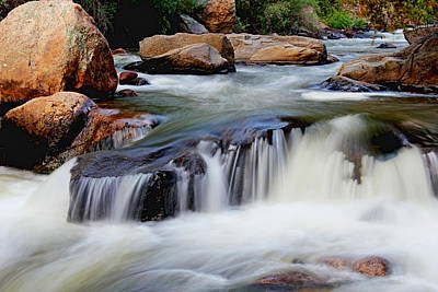 Photograph - Rushing River by Trent Mallett