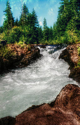 Photograph - Rushing Rogue Gorge by Melanie Lankford Photography