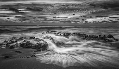 Rushing Tide Art Print by Mike Lang