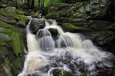 Photograph - Rushing Water by Mike Farslow