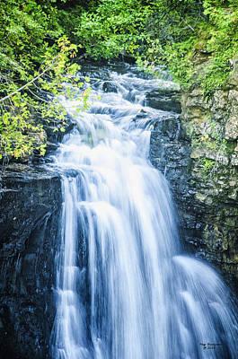 Photograph - Rushing Waterfall by Peg Runyan