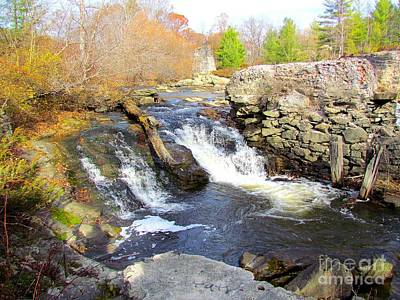 Target Threshold Nature Royalty Free Images - Rushing Waters Royalty-Free Image by Elizabeth Dow