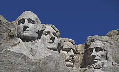 Fab Four Photograph - Rushmore by Skip Hunt