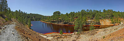 Pena Photograph - Russed Colored Waters Near Mine, Pena by Panoramic Images