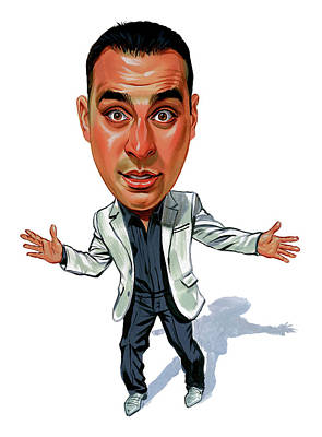 Canadian Painting - Russell Peters by Art