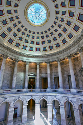 Russell Senate Office Building Art Print by Mitch Cat