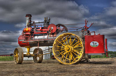 Russell Steam Art Print by Shelly Gunderson