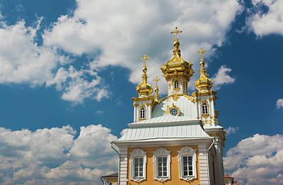 Russia, Saint Petersburg, Peterhof Art Print