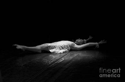 Photograph - Russian Ballerina As A Melting Snowflake. by Clare Bambers