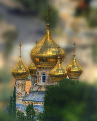 Photograph - Russian Church by Don Wolf