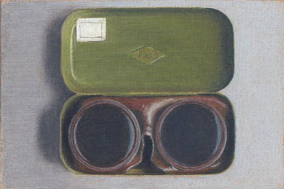 Painterly Drawing - Russian Goggles by Liam Harper