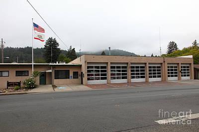 Russian River Fire District 1 In Guerneville California 5d25917 Art Print