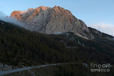 Photograph - Russian Road - Vrsic Pass - Slovenia by Phil Banks