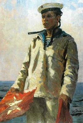Russian Sailor Art Print by Jake Hartz