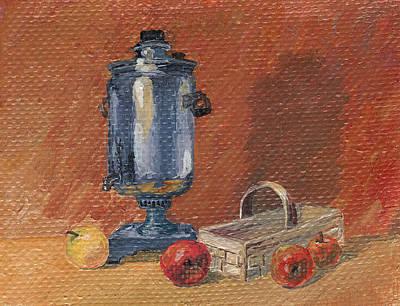 Painting - Russian Style by Masha Batkova