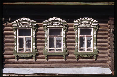 Photograph - Russian Windows by Alan Toepfer