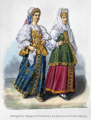 Russian Women Print by Granger