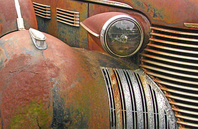 Photograph - Rust ... The Other Color by Deb Buchanan
