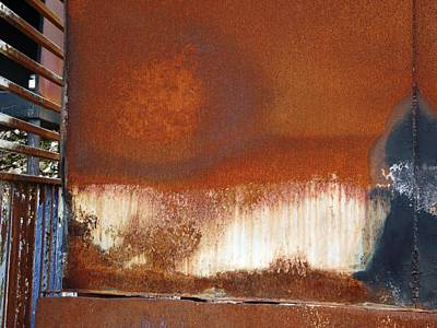 Mixed Media - Rust 4 by Reli Wasser