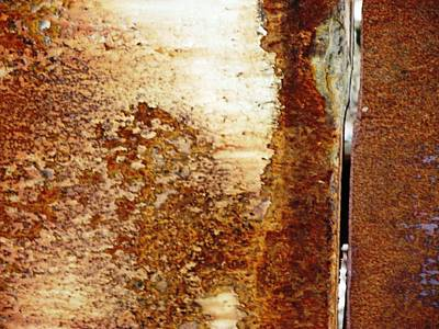 Mixed Media - Rust 8 by Reli Wasser