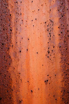 Photograph - Rust Abstract 2 by Rob Huntley