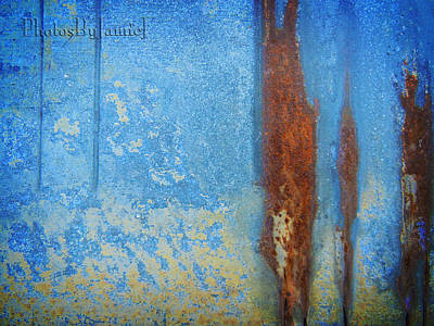 Photograph - Rust Abstract by Jamie Johnson